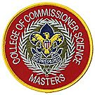Commissioner Science Masters Emblem