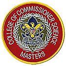 Commissioner Science Masters Emblem
