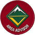 Venturing® Position Emblem - Area Advisor