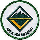 Venturing® Position Emblem - Area VOA Member