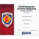 Fire/Emergency Services Exploring Certificate