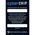 Cub Scout™ Cyber Chip Pocket Certificate