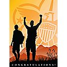 BSA® Mountain Top Congratulations Card