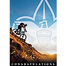 BSA® Mountain Biker Congratulations Card