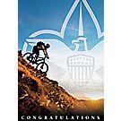 BSA® Mountain Biker Congratulations Card