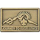 Journey to Excellence Bronze Pin