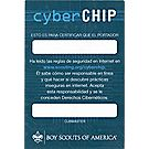 Cub Scout™ Cyber Chip Pocket Certificate - Spanish