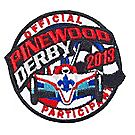 Pinewood Derby® 2013 Embroidered Patch