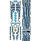 Light Racer Carving Template and Decals