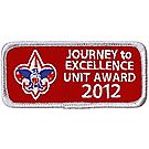 Journey to Excellence 2012 Unit Silver Award