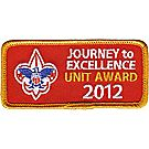 Journey to Excellence 2012 Unit Gold Award