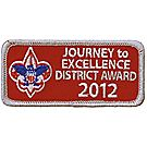 Journey to Excellence 2012 District Silver Award