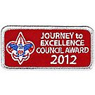 Journey to Excellence 2012 Council Silver Award
