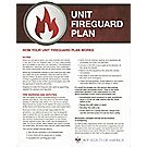 Unit Fireguard Plan Chart