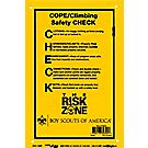 Project C.O.P.E. Climbing Safety Check Poster