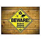 Summit Bechtel Reserve® Critter Sign Postcard