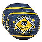 Blue & Gold 2-Piece Lantern Kit