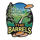 2013 Jamboree® Activity Emblem - The Barrels