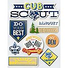 Cub Scout™ 3D Stickers