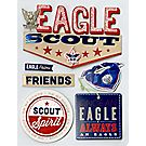 Eagle Scout® 3D Stickers