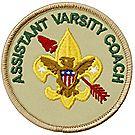 Assistant Varsity Coach Emblem