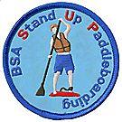 Standup Paddleboarding Emblem
