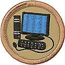 Computer Geek Patrol Emblem