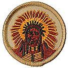 Native American Patrol Emblem