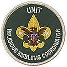 Unit Religious Emblems Coordinator Emblem