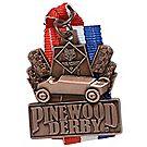 Pinewood Derby® Bronze Neck Medal