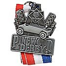 Pinewood Derby® Silver Neck Medal