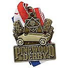 Pinewood Derby® Gold Neck Medal