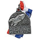 Space Derby® Silver Neck Medal