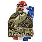 Space Derby® Gold Neck Medal