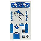 "Raingutter Regatta® ""Sharks"" Trimaran Decals"