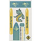 "Raingutter Regatta® ""Sea Dragons"" Trimaran Decals"
