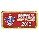 Journey to Excellence 2013 Unit Gold Award