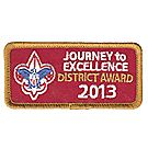 Journey to Excellence 2013 District Bronze Award