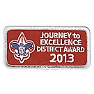 Journey to Excellence 2013 District Silver Award