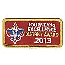 Journey to Excellence 2013 District Gold Award