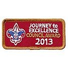 Journey to Excellence 2013 Council Bronze Award