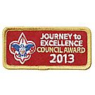 Journey to Excellence 2013 Council Gold Award
