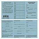 Merit Badge Application Cards—25-Pack