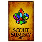 Scout Sunday 2014 Program Cover