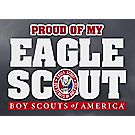 Proud of My Eagle Scout® Window Decal