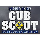 Proud of My Cub Scout™ Window Decal