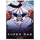 """""""Super Scout Dad"""" Card"""