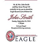 Eagle Scout® Court of Honor Invitation Cards—50-pack
