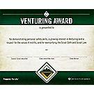 Venturing® Award Wall Certificate
