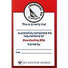 Boardsailing Pocket Certificate